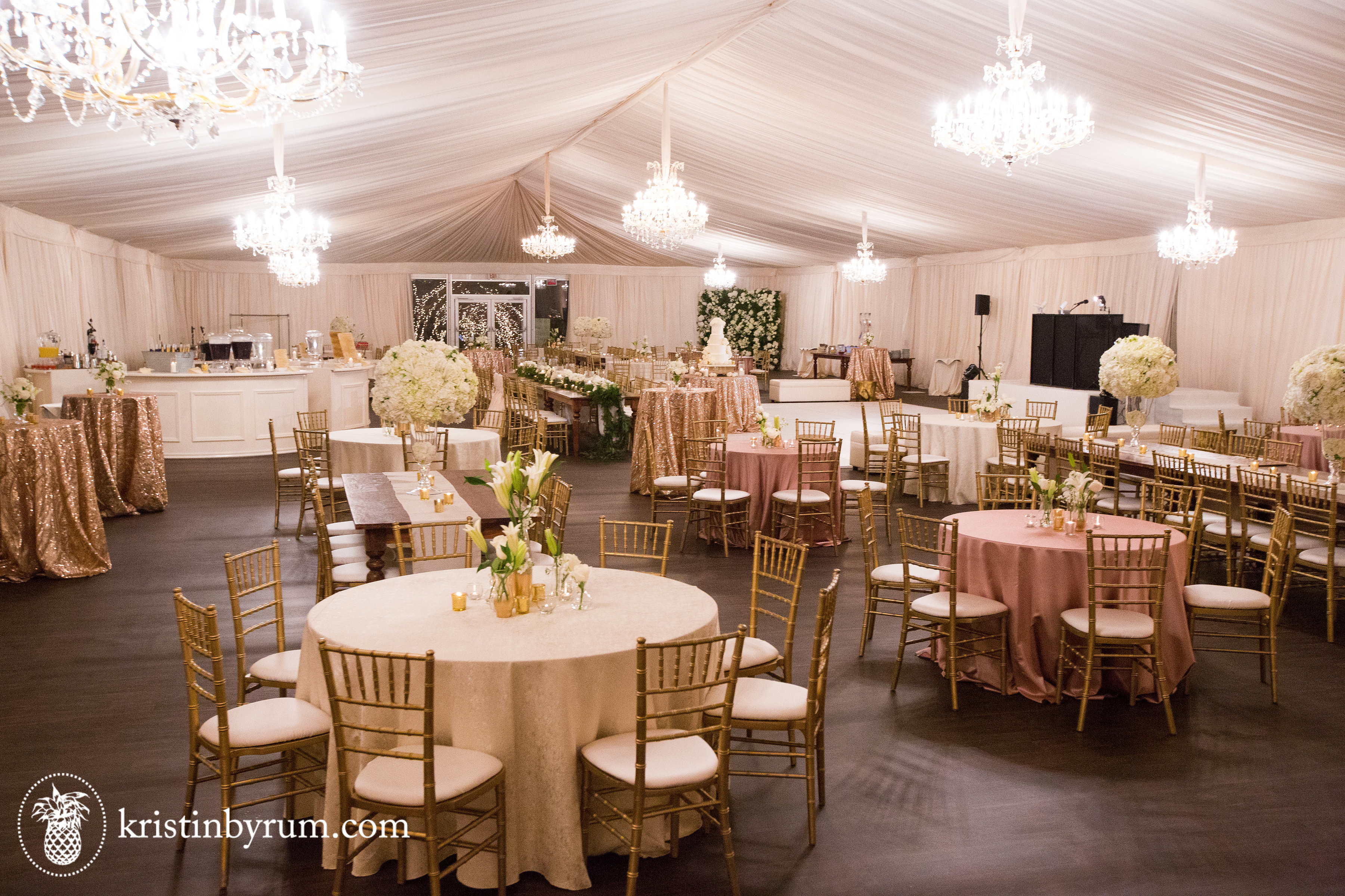 Romantic Luxury Outdoor Tent Wedding With Decoratio , SGS / TUV / CE Passed